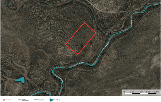 SOLD: 5.1 Acres in Southern Ward County, TX
